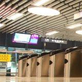 厂家直销现货供应吊顶天花木纹铝方通管直销供应