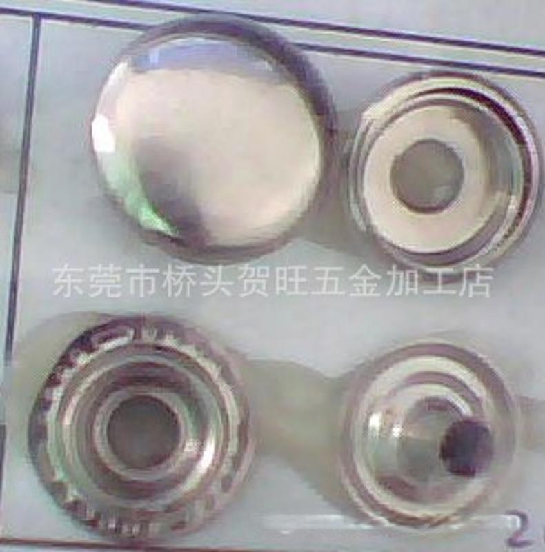 不锈钢四合扣 15mm不锈钢四合纽 不锈钢车缝钮 不锈钢大白扣