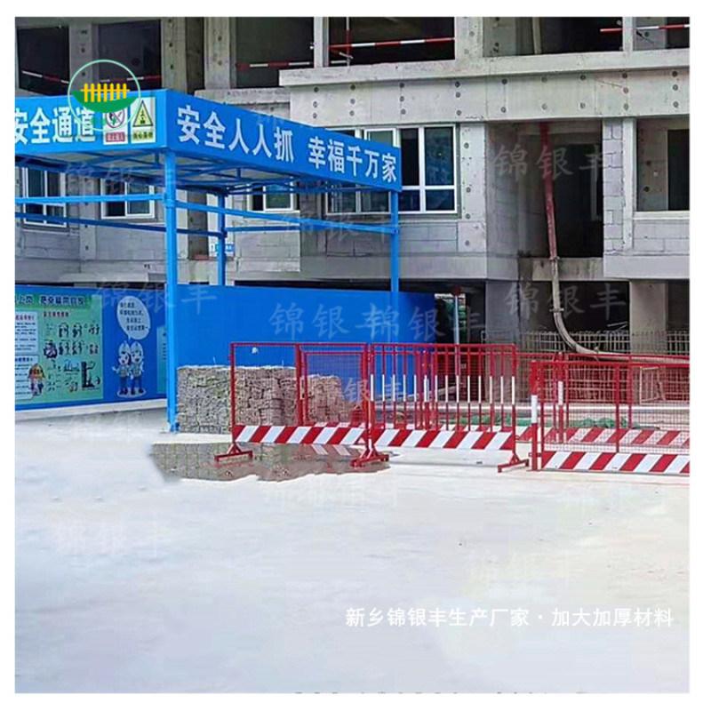 河南新乡工地钢筋加工棚厂家 标准化钢筋加工棚厂家