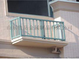 山东鲁岳空调栏杆、工厂锌钢围栏