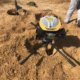 汽油挖坑机/埋桩打坑机/大马力地钻挖坑机
