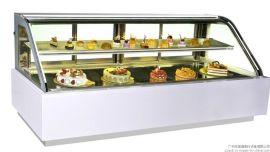 弧形蛋糕展示柜