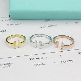厂家批发925银戒指经典T戒纯银戒指
