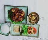 久新模擬食品模型 蔥油雞套餐風模擬食品模型