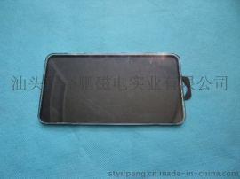 热销钢化玻璃膜透明盒 玻璃保护膜透明包装盒 ps透明水晶盒(YP-28)