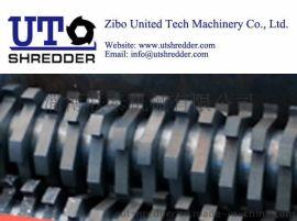 山东双轴撕碎机D42100金属橡胶轮胎塑料电子垃圾木材撕碎
