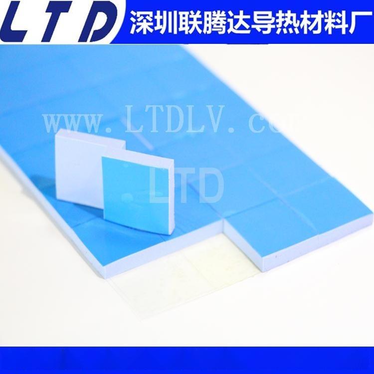 超高导热硅胶片 笔记本电脑 平板 手机 导热绝缘硅胶片