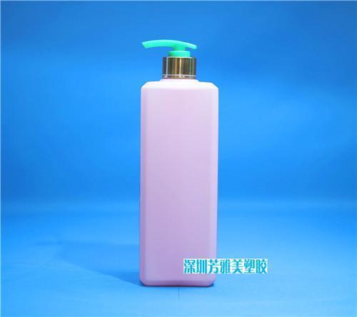 广东吹塑瓶厂家,500M洗发水瓶批发,1000ML方形沐浴露瓶价格