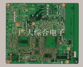 8層埋盲孔線路板、多層差分阻抗電路板、深圳八層PCB板廠家、廣大綜合電子