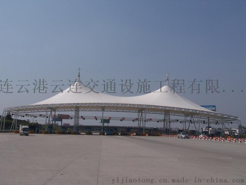 雲連交通供應東海EGBD-S-W-A2膜結構遮陽棚