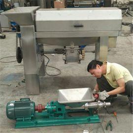天众葡萄除梗破碎机 输浆泵  水果榨汁机 螺旋压榨机