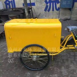 北京直销垃圾车、保洁三轮车、人力环卫三轮车、环卫三轮保洁车、垃圾清运三轮