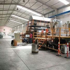 同質透心地板革生產線