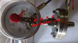 上海天川不锈钢隔膜耐震电接点压力表 全不锈钢压力表