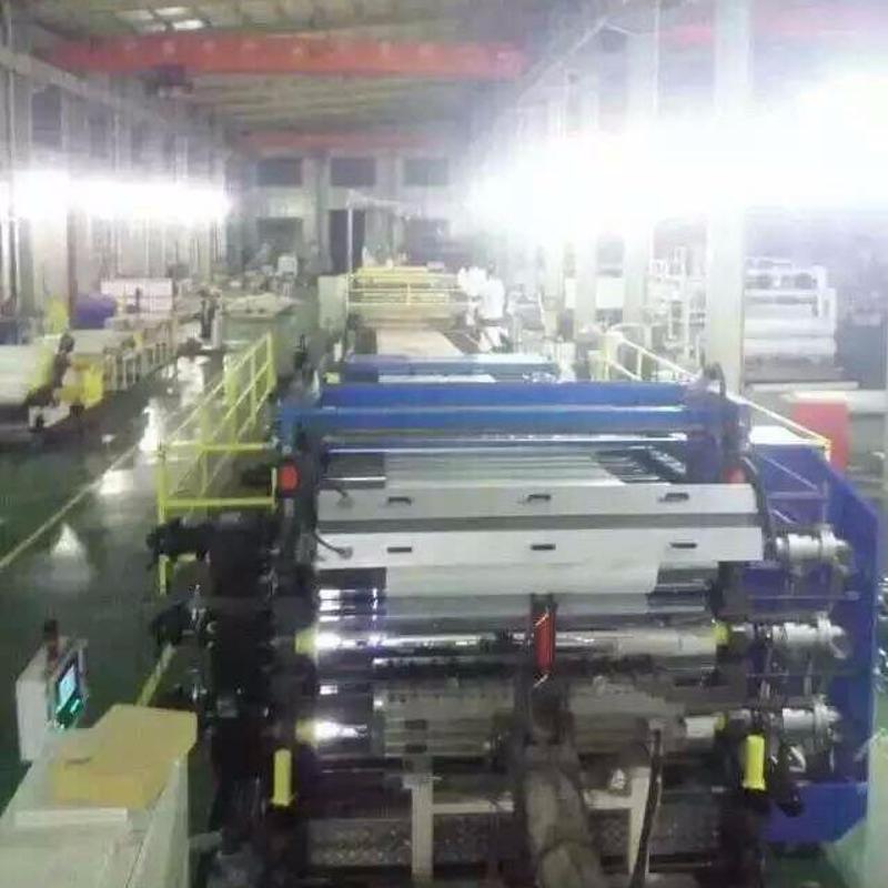 金韦尔制造PP PE ABS PVC厚板设备生产线