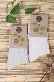 有机天然彩棉袜子