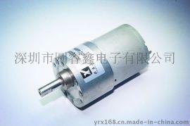 厂家直销12V 24V减速马达 金属齿轮箱 GB/GA37-3530直流减速电机