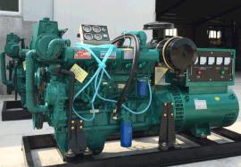 潍柴分厂150kw千瓦船用柴油发电机组 配纯铜无刷发电机 高效常用发电