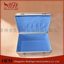 铝合金精密度仪器箱 仪器箱医疗箱生产厂家 中型精密仪器箱铝箱