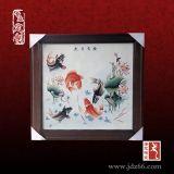 陶瓷手绘青花壁画定制厂家,陶瓷壁画多少钱