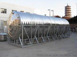 广东金号不锈钢水箱冲压板304常用方形水箱模压板现场拼装水箱板材