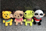 广州玩具公仔定制毛绒公仔厂家批发定制