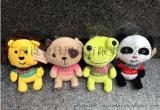 廣州玩具公仔定製毛絨公仔廠家批發定製