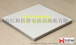 耐磨環保防靜電地板哪家好 陝西紅梅全鋁防靜電地板-