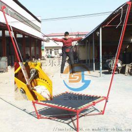 迷你鋼架蹦極牀兒童遊樂園大量需求