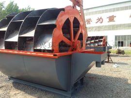 大型轮式洗砂机 四排都轮式洗砂机图片