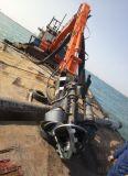 德州鉤機無堵塞泥灰泵 河道專用抽鵝卵石泵 鉤機大型潛污泵
