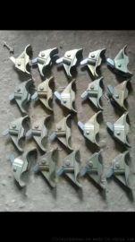 江苏新型蝴蝶扣弹簧式山型扣用钢筋代替丝杆