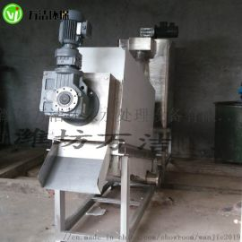 小型不锈钢叠螺式污泥脱水机 山东叠螺式污泥脱水机