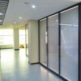 厂家定制客厅办公高隔断办公室隔断墙铝合金百叶白玻玻璃高隔间