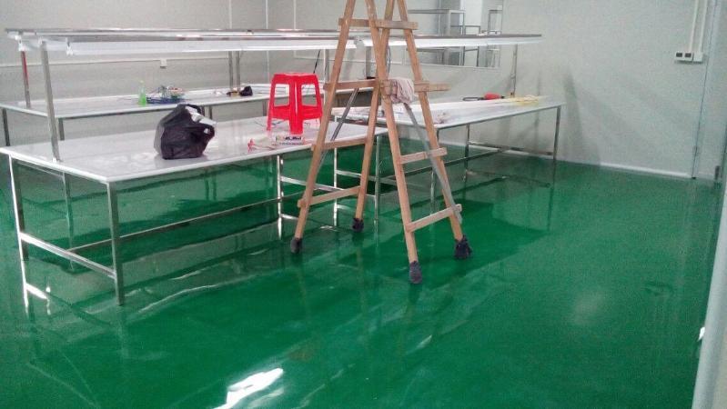 環氧防靜電砂漿自流平平塗地坪
