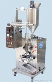 山东大酱包装机/甜酱自动包装机/带搅拌酱料包装机