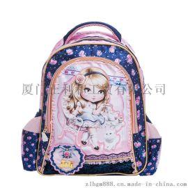 生书一件代发韩版芭比儿童书包小学包卡通书包双肩背包幼儿园包