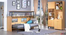 北欧我居我潮WJWC1900*900桌台式隐形床-壁床-收纳床-墨菲床-多功能家具五金配件批发