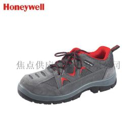 霍尼韋爾安全鞋防砸防靜電勞保鞋透氣運動式灰紅色款 SP2010511