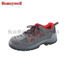 霍尼韦尔安全鞋防砸防静电劳保鞋透气运动式灰红色款 SP2010511