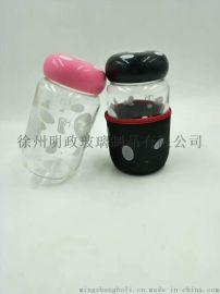 北京玻璃水杯 北京企鹅杯 北京蘑菇杯批发 漂流瓶