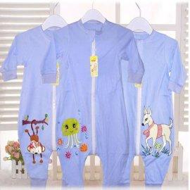 厂家直销婴儿分腿式睡袋纯棉单层款儿童防踢式睡袋新生儿宝宝睡袋支持一代发