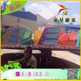上客量大-室内新型游乐北京赛车ftzp-24飞天转盘-童星厂家热销款