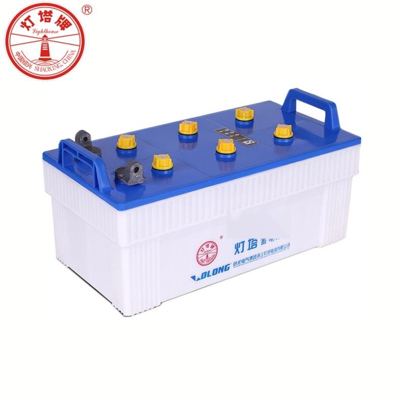 浙江灯塔电源QA型货车工程车干荷起动长寿命水电瓶