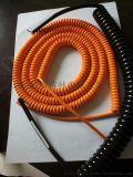 耐高温125度螺旋电缆