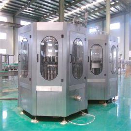 瓶装饮料生产线  全自动果汁饮料生产设备 饮料生产热灌装机