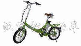 可折叠锂电池电动自行车