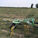 攤摟一體機 旋轉摟草機稻穀秸稈牧草攤摟一體機械