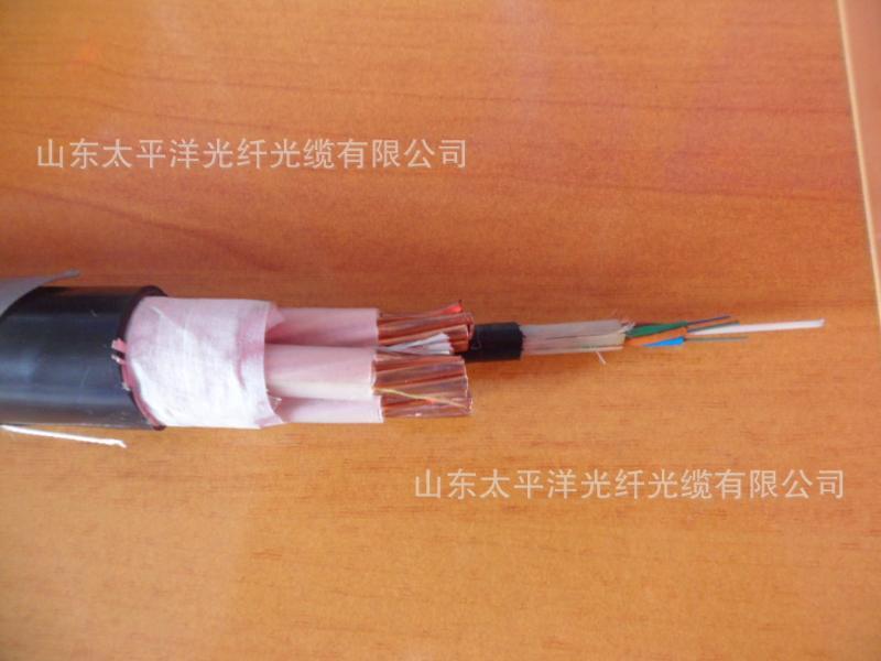 太平洋光纤复合电缆【OPLC低压电缆】 光纤电缆 单模光纤裸铜线