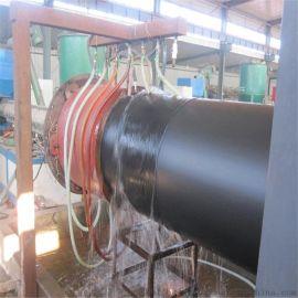高密度聚乙烯黑夹克聚氨酯硬质泡沫塑料预制直埋保温管